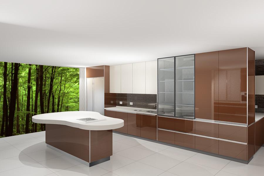 廚房設計規劃任何好的規劃,都必須依照自己的需求及使用模式,進而提供安全、便利及健康的生活形態,再依照預算,來進行廚房設計規劃與訂作完美廚具。                    思考:廚具的使用頻率及用餐人口數烹調習慣及會使用的電器準備區、烹調區與收納區之作業動線收納功能實用、耐用與美觀之差距預算